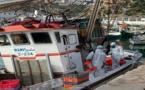 بالصور.. خلو ركاب مراكب الصيد الساحلي التي حلت بميناء الحسيمـة من أعراض فيروس كورونا