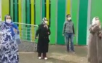 شاهدوا... فرحة عارمة بمستشفى مكناس بمناسبة شفاء اربعة مرضى من فيروس كورونا