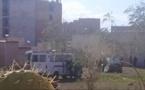 شاهدوا بالفيديو.. الشرطة توقف مروجين للمخدرات ضمنهم مبحوث عنه في حادث اطلاق النار ببني انصار
