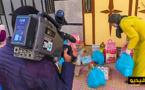 """القناة الثانية تغطي استفادة أزيد من 500 أسرة من """"واه نزمار"""" وزوار ناظورسيتي يساهمون بـ210 قفة"""