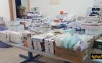 """جمعية """"تويزا"""" للاغاثة الألمانية بالمغرب تسلم المستشفى الإقليمي للحسيمة معدات طبية وأدوية مهمة"""
