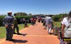 شاهدوا.. 195 من المواطنين المغاربة العائدين من مليلية يغادرون السعيدية الى منازلهم