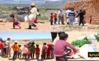 توزيع قفف غذائية على المعوزين بمناطق نائية بإقليم الناظور