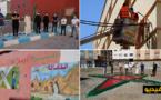 شباب أولاد براهيم و يبدعون في تزيين حيهم رغم ظروف الحجر الصحي