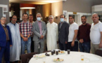القنصل العام للمملكة المغربية ببروكسيل يزور المغاربة العالقين يوم عيد الفطر المبارك