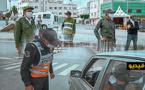 شاهدوا.. السلطات الأمنية تشدد من إجراءات مراقبة حالة الطوارئ خلال يوم عيد الفطر بالناظور