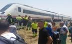 """قطار يصرع شابا مغربيا ويرسل زميله إلى """"العناية المركزة"""" بإسبانيا"""