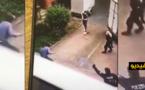 شاهدوا.. هكذا أجهزت الشرطة الألمانية على مهاجر مغربي أشهر سلاحا أبيضا