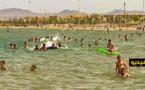 شاهدوا.. إقبال واسع لساكنة الناظور على الشاطئ الاصطناعي بكورنيش مارتشيكا