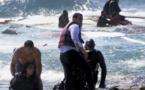 وصول زوجين وطفلهما في قارب أبحر من سواحل الريف إلى إسبانيا