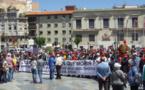 مهاجرون مغاربة يحتجّون في مورسيا الإسبانية ضد التمييز والتهميش