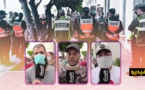 """العشرات من """"الفراشة"""" يحتشدون أمام عمالة الناظور للمطالبة بالسماح لهم بالعودة الى مزاولة نشاطهم التجاري"""