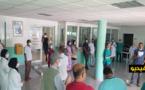 الشغيلة الصحية بالناظور تخوض وقفة احتجاجية تضامنا مع طبيبة اعتدى عليها مواطن بتيزطوطين