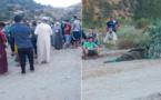 بالصور.. إيقاف الشخص الذي هاجم رواد مقهى في تمسمان بواسطة منشار بعد أسبوعين من فراره