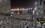 مهاجر عالق بالناظور يدخل مليلية سباحة من شاطئ بني انصار