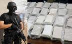 هذه  كمية الكوكايين التي ضبطتها الشرطة لدى جندي بفرخانة