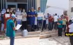الأطر الطبية والتمريضية بالناظور تواصل الاحتجاج ضد قرارات وزارة الصحة