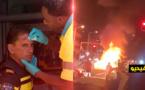 ملثمون يطلقون شرارة أعمال شغب وتخريب في لاهاي الهولندية