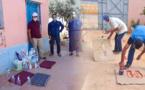 """اجتماع بين إدارة """"م م محمد السادس"""" بالكبداني وجمعية الآباء لدراسة السبل الكفيلة بإنجاح الدخول المدرسي"""