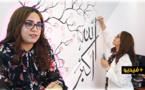 شاهدوا: مهاد الشملالي.. شابة من الناظور تقتحم مجال الصباغة على الجدران بأياد ناعمة