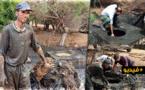انفجار قناة للواد الحار بالناظور يكشف عن مصير شباك صيد مسروقة