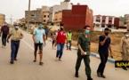 سلطات قيادة بني بويفرور تشرف على توزيع كمامات واقية على المواطنين للحد من تفشي وباء كورونا