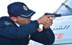 الشرطة تستعمل الرصاص لإيقاف مجرم عرض حياة أحد أقاربه للخطر