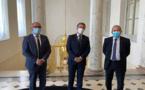 """الرئيس ماكرون يستنجد بالمغربي موساوي لمكافحة التطرّف في فرنسا عقب هجوم أمس على """"شارلي إيبدو"""""""