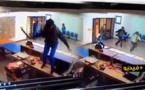 شاهدوا.. عصابة مسلحة تقوم بعملية سطو على وكالة بنكية ببركان