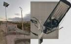 الدريوش.. تخريب مصابيح للإنارة العمومية تشتغل بالطاقة الشمسية بعد ساعات من تركيبها