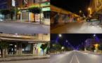 شاهدوا.. هكذا بدت شوارع مدينة العروي ليلة تطبيق الحجر الصحي الجزئي بإقليم الناظور