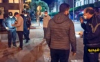 مواطنون يجتمعون ليلا أمام القنصلية الإسبانية بالناظور والأمن يتدخل