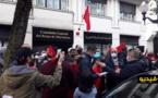 جزائريون يشاركون المغاربة وقفة احتجاجية ضد استفزازات ميليشيات البوليساريو بإسبانيا