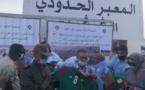 بعد قادة الأحزاب السياسية.. وفد من الجامعة الملكية المغربية لكرة القدم في زيارة للكركرات