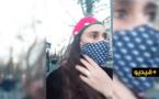 شاهدوا.. أم مغربية تواجه مرتزقة البوليساريو بشجاعة وسط باريس