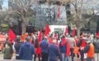 وقفة احتجاجية لأفراد الجالية المغربية في فالنسيا للتنديد باستفزازات الانفصاليين