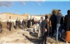 تشييع جنازة والدة عضو هيئة المحامين بالناظور الأستاذ أحمد أنو بمقبرة جماعة أمجاو بالدريوش