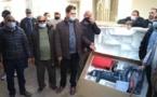 رئيس مجلس إقليم الدريوش يشرف على توزيع محركات قوارب الصيد التقليدي بميناء سيدي احساين