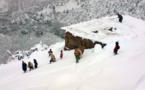 """""""عزلة قاتلة"""".. الثلوج """"تعزل"""" مئات المواطنين بين الحسيمة وتاونات"""