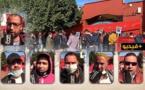 """تجار """"الجوطية"""" بالناظور يواصلون احتجاجاتهم ويطالبون السلطات بالتدخل للتخفيف من تأثيرات الأزمة عليهم"""