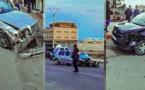 شاهدوا.. اصطدم 3 سيارات بمدخل مدينة العروي يخلف مصابين وخسائر مادية جسيمة