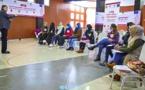 """جمعية """"ماسينيسا"""" تواصل تأطير شابات أزغنغان في موضوع التمكين السياسي ودعم المشاركة الديمقراطية للمرأة"""