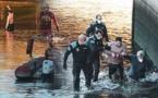 القبض على مغربي قفز في نهر شديد البرودة هربا من الشرطة