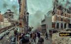 """شاهدوا.. إصابة ستة أشخاص في انفجار """"عنيف"""" بالعاصمة الإسبانية مدريد"""