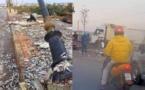 الحسيمة.. انقلاب شاحنة محملة بأطنان من الأسماك بمدخل مدينة إمزورن