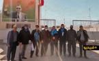 ساكنة الناظور وفعاليات جمعوية ومستثمرون في زيارة لمعبر الكركرات الحدودي