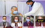 شاهدوا.. الأطر الصحية والإدارية يتلقون الجرعات الأولى من اللقاح المضاد لفيروس كورونا بالناظور