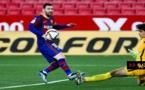 """شاهدوا.. حارس المنتخب المغربي ياسين بونو يتصدى لـ""""ميسي"""" ببراعة ويبعد له أربعة أهداف محققة"""