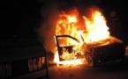 حادثة سير مروعة تخلف مصرع مستشار جماعي حرقا داخل سيارته
