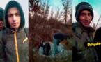 شاهدوا.. شباب ريفيون يتحدون المخاطر وسط غابات البوسنة بحثا عن مستقبل أفضل